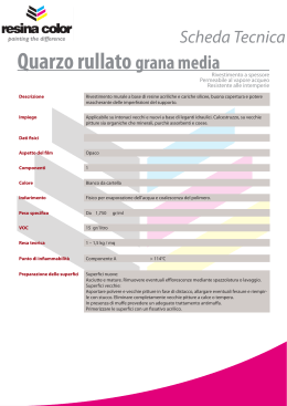 Quarzo rullato grana media