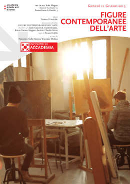FIGURE CONTEMPORANEE DELL`ARTE