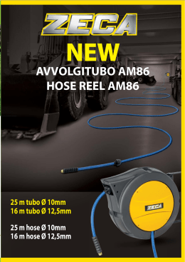 AVVOLGITUBO AM86 HOSE REEL AM86