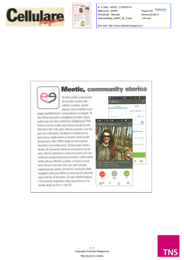 Meetic, community storica