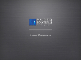 Light Emotions - Maurizio Polverelli Photography