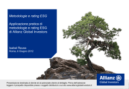 Slide intervento Isabel Reuss – Allianz Global