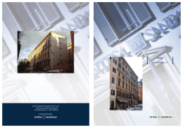 Brochure Roma via Mecenate.indd