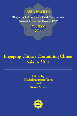 Engaging China / Containing China: Asia in 2014