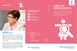 CheCk up DONNA OVeR 50