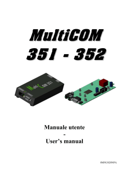 MultiCOM 351 - UPS technet