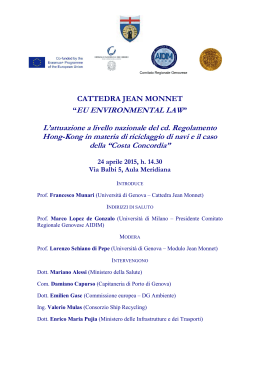 JEAN MONNET INITIATIVES