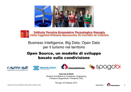 Business Intelligence, Big Data, Open Data per il