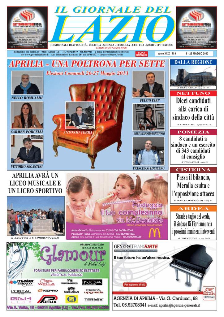 APRILIA - Il Giornale del Lazio 74e61aef481