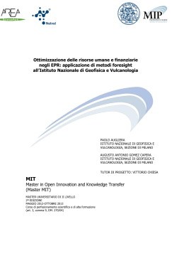 Master in Open Innovation and Knowledge Transfer (Master MIT