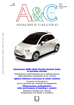 News & Products - Analisi e Calcolo