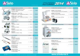 AUTUNNO 2014 - Dental Select