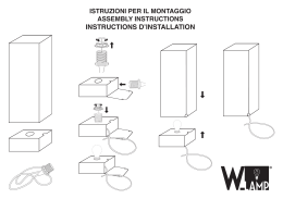 INSTRUCTIONS D`INSTALLATION - w-lamp