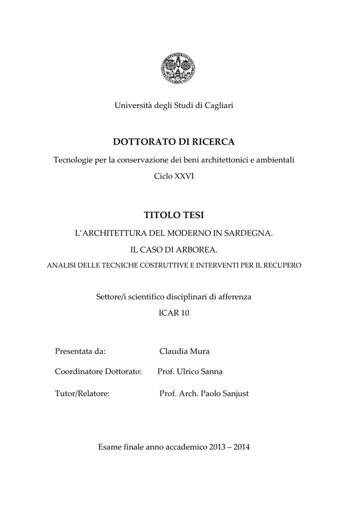 Documento PDF UniCA Eprints Universit Degli Studi Di Cagliari