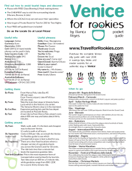 www.TravelforRookies.com