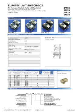EUROTEC LIMIT-SWITCH-BOX - TTS Valve Technologies Sdn Bhd