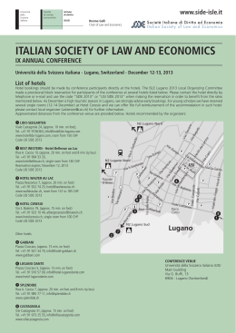 italian society of law and economics ix annual - side