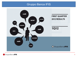 First quarter 2012 results