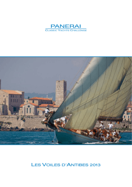 LES VOILES D`ANTIBES 2013