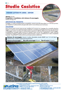 Case Study - Higher Lutton PV