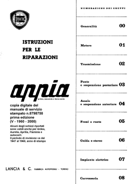 print job - Club Lancia Appia