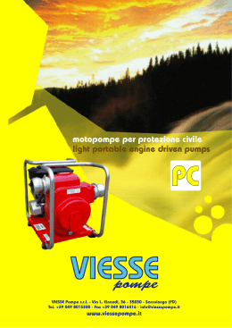 light portable engine driven pumps motopompe