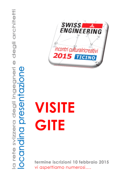 VISITE GITE - Swiss Engineering