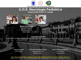 U.O.S. Neurologia Pediatrica
