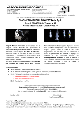 MAGNETI MARELLI POWERTRAIN SpA.