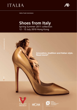 Shoes from Italy - Assocalzaturifici