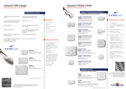 Cytoplast® RTM Collagen Cytoplast® TXT200 e TI250