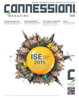 ISE 2015 - Connessioni