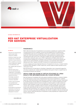 red hat enterprise virtualization for servers