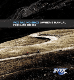 2007 FOX Owner`s Manual CD Booklet