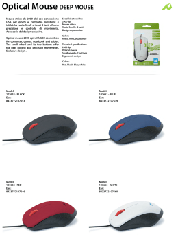 Optical Mouse DEEP MOUSE - hi-Fun