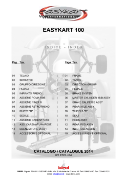 easykart 100 indice - index