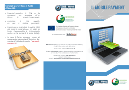 IL MOBILE PAYMENT
