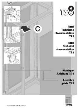 Rittal TS8 Assembly Instructions