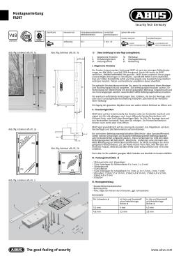 und bedienungsanleitung f r abus fenster. Black Bedroom Furniture Sets. Home Design Ideas