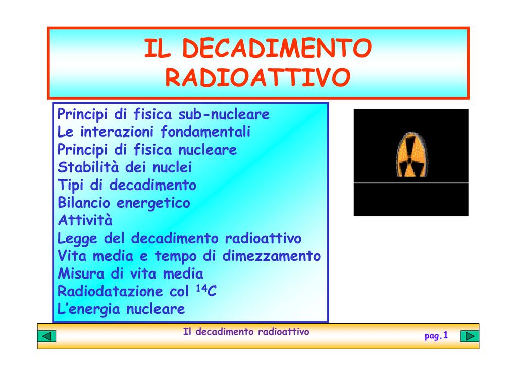 Problemi di emivita di datazione radiometrica