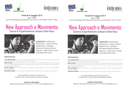 New Approach New Approach e Movimento