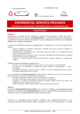 EXPERIENTIAL SERVICES PROVIDER