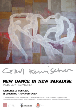 NEW DANCE IN NEW PARADISE
