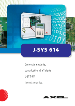 J-SYS 614 - Axel S.r.l.