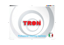 Professional Cleaning machines