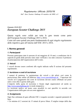 Official Rules 2015/16 - European Scooter Challenge