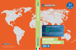 MASTER CATALOGUE 2014