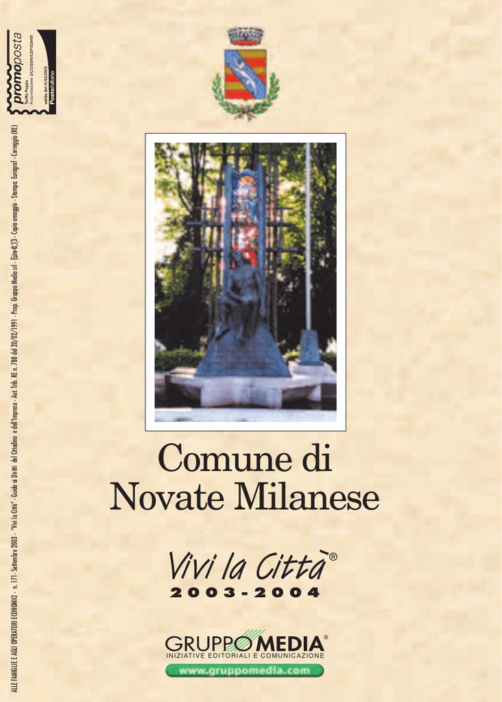 Piscina Novate Milanese Via Brodolini.Novate Milanese Guida
