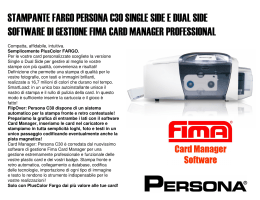 stampante fargo persona c30 single side e dual side software di