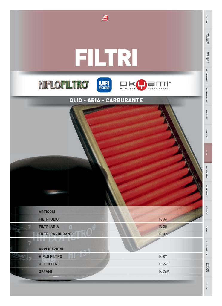 Filtro olio Set 3/pezzi HiFlo HF561/per Kymco